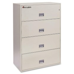 4-Drawer Vertical Filing Cabinet by SentrySafe