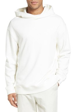 Vince Side Zip Mens Pullover Hoodie Sweatshirt