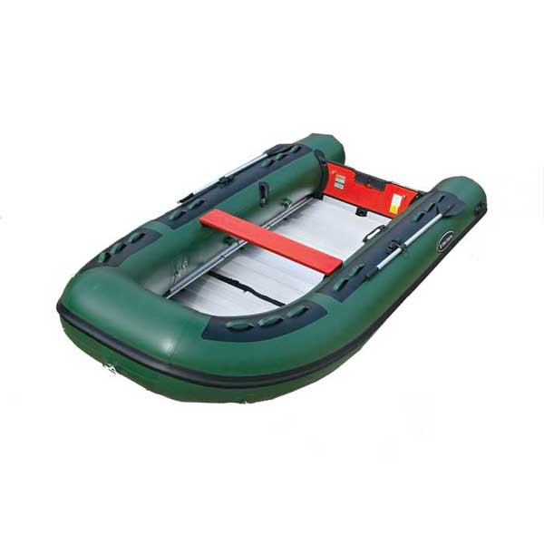 "WEST MARINE Heavy Duty AL-390 Green PVC ""Sportsman"" Inflatable Sportboat"