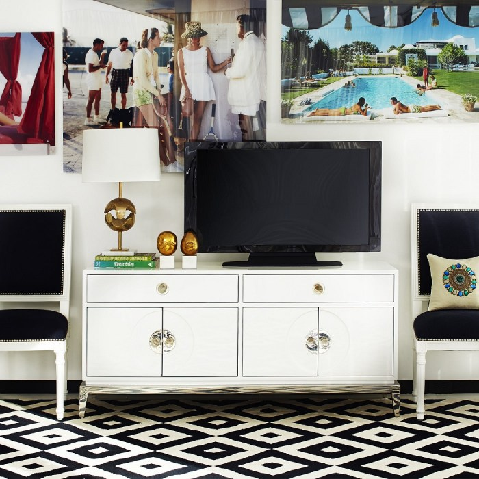 Channing Media Console Living Room Furniture by Jonathan Adler