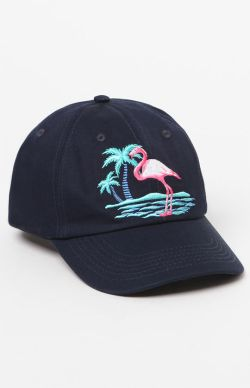 Duvin Design Pond Strapback Flamingo Dad Hat