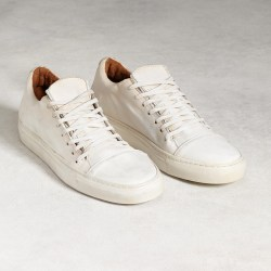 John Varvatos 315 Reed Low Top Italian Leather Sneakers
