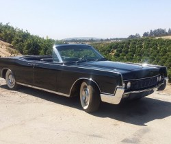 1967 Lincoln Continental Black Convertible Classic Car