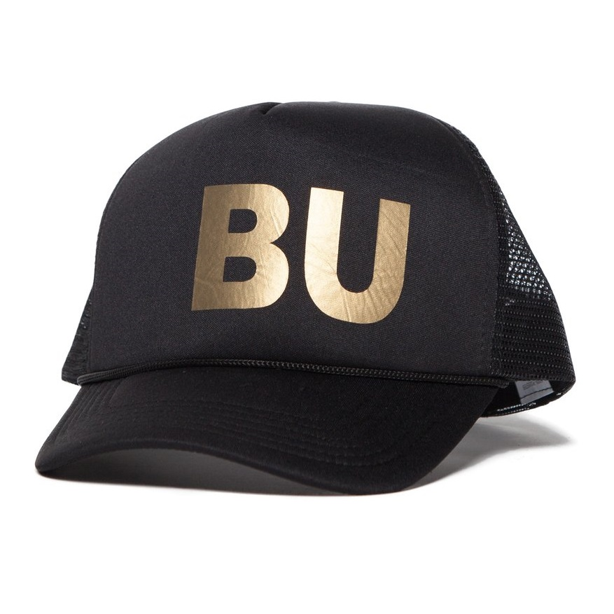 BU Black & Gold Malibu Trucker Hat from Pistol and Lucy
