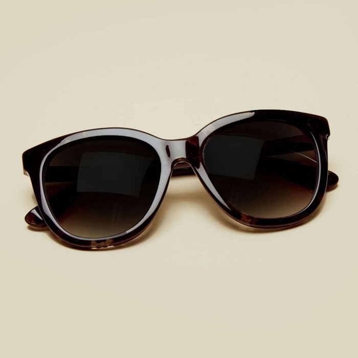 S11 Black Tortoise Shell Sunglasses by Sicky Eyewear