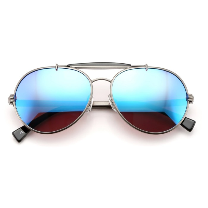 f2afaf0a7404 Wildfox Goldie Deluxe Military inspired Aviator Frame Sunglasses ...