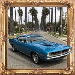 1970 Plymouth Barracuda 340 Classic Muscle Car