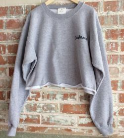 Brandy Melville John Galt California Embroidered Small Cropped Womens Sweatshirt
