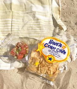 Have A Corn Chips Made in California. Favorite Chips for a Beach Day