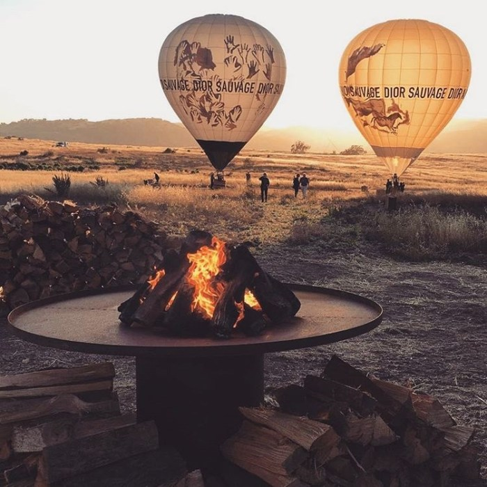 Dior Hot Air Balloons at Magic Hour – Las Virgenes Canyon