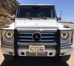 2014 Mercedes Benz Gelandewagon White G550 Suv