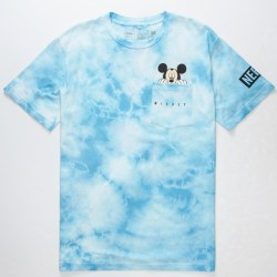 NEFF Disney Collection Tie Dye Peek Mickey Pocket Tee