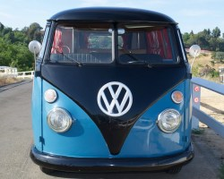 1963 Volkswagen Vanagon VW Retro Camper Bus