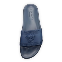 Versace Medusa & Greek Key Mens Shower Slide Sandal