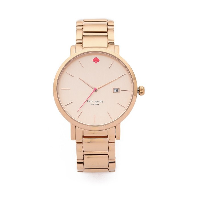 Kate Spade New York Rose Gold Gramercy Grand Womens Watch