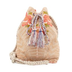 JWLA by Johnny Was Jojo Linen Bucket Bag