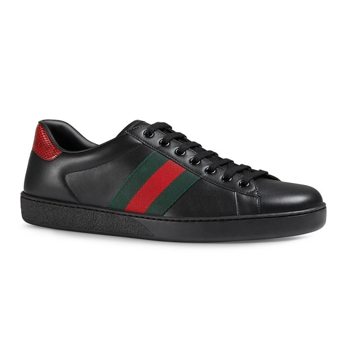Gucci New Ace Mens Low Top Sneakers