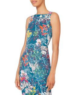 Peter Pilotto Kia Floral Print Dress