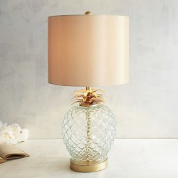 Regal Pineapple Table Lamp