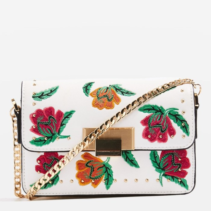 RIA Floral Cross Body Bag
