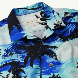 Tommy Bahama Sunset Island Mens Hawaiian Camp Shirt