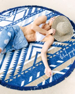 The Beach People Lorne Roundie Beach Blanket
