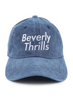 Beverly Thrills Navy Mineral Dad Hat