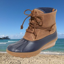 Sperry Saltwater Wedge Tide Womens Boots