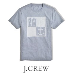 J.Crew New York Anchor T-shirt