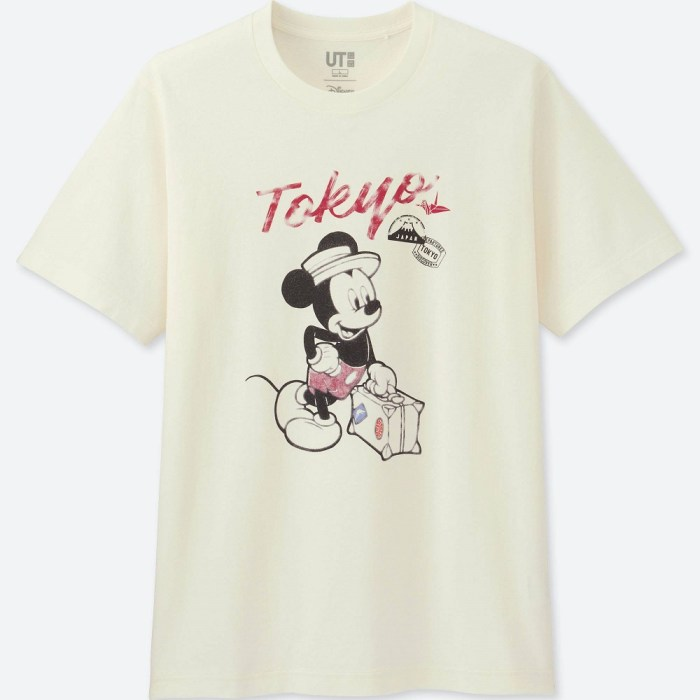 Mickey Travels Short-Sleeve Tokyo Graphic T-Shirt