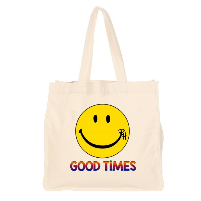 Ron Herman Limited Edition Good Times Tote Bag