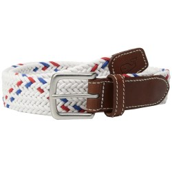 Vineyard Vines Rope Stripe Mens Bungee Belt