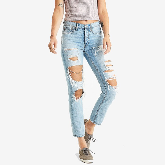American Eagle Vintage Hi-Rise Seakissed Womens Jeans
