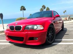 2002 BMW M3 Hardtop Convertible Red 2-Door Car