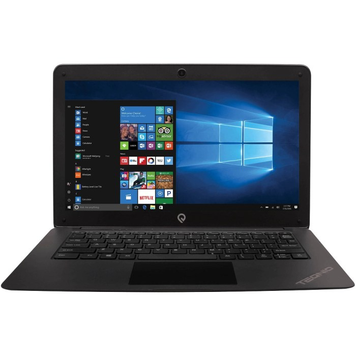 Epik Teqnio ELL1201T 12.5″ Laptop, Windows 10 Home, Intel Atom x5-Z8350 Processor, 2GB RAM ...