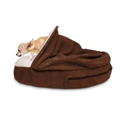 Snuggery Hooded Dog Bed by FurHaven