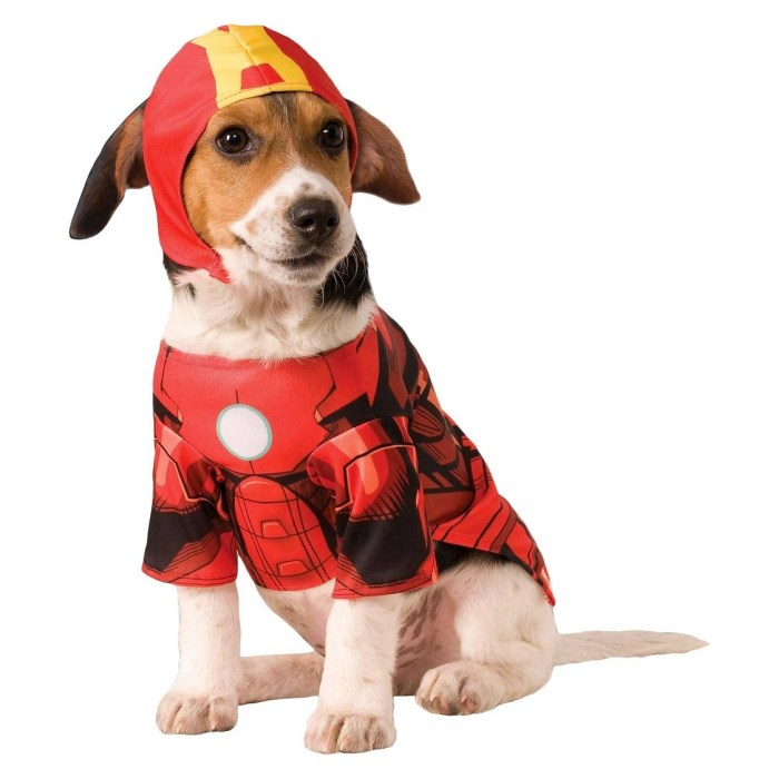 Iron Man Dog Halloween Costume