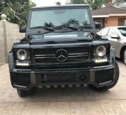 2011 Mercedes G55 AMG Luxury SUV with Custom Designo Package