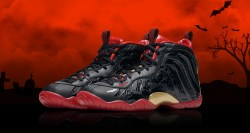 Nike VAMPOSITE Little Posite One QS Kids Shoes