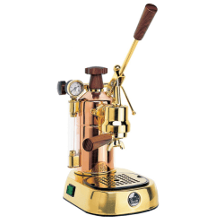 La Pavoni 16-Cup Copper/Brass Professional Espresso Machine