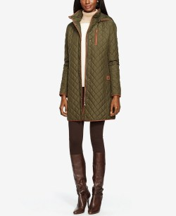 Lauren Ralph Lauren Hooded Quilted Jacket