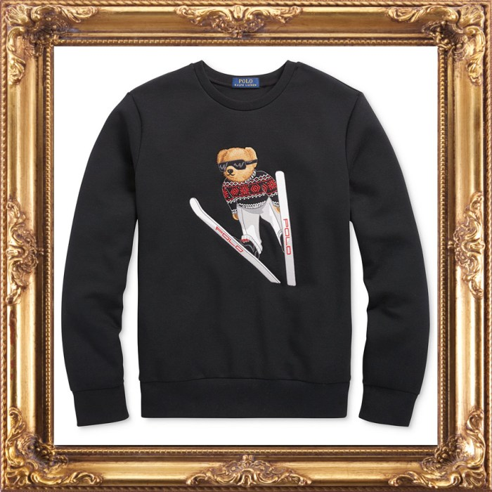 Polo Ralph Lauren Men's Ski Bear Sweatshirt