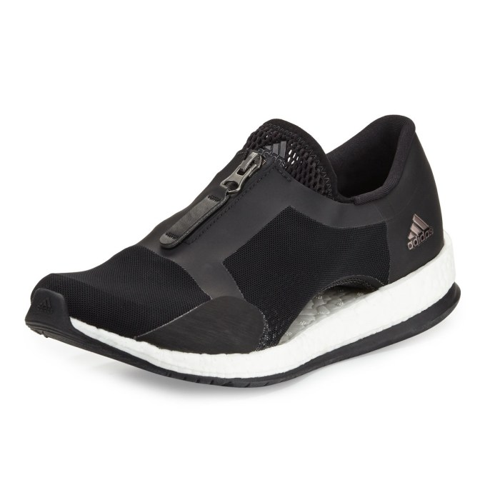 Adidas Pure Boost Zip-Front Womens Sneakers