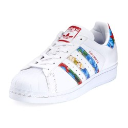Adidas Superstar Multicolor Stripe Womens Sneakers