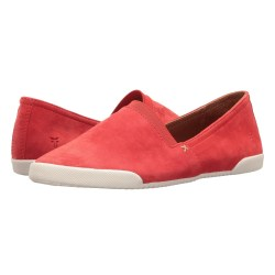Frye Melanie Slip-On Coral Suede Shoes