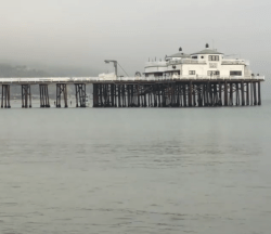 Foggy Day at the Malibu Pier