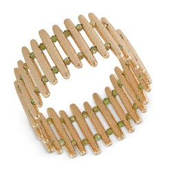 ABS by Allen Schwartz Gold-Tone Bar Stretch Bracelet