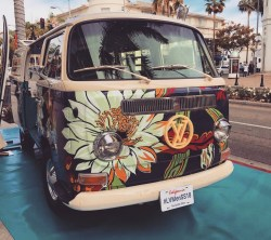 Louis Vuitton VW Surfer Bus on Rodeo Dr in Beverly Hills, California