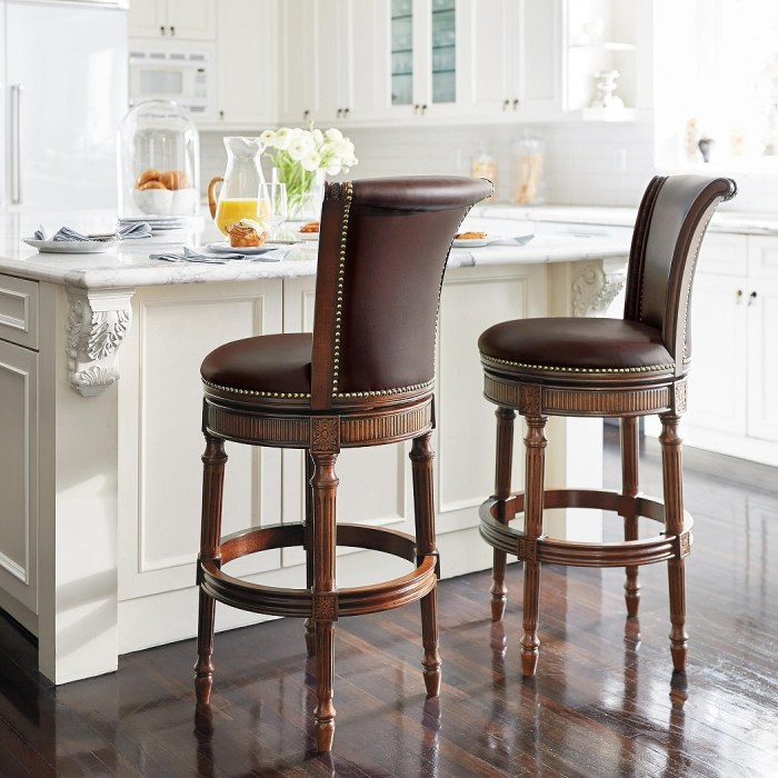 Chapman Swivel Bar and Counter Stools
