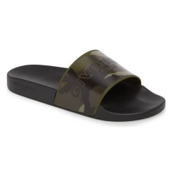 GIVENCHY Camo Logo Pool Sandals